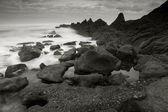 Beach of Azkorri, Getxo, Bizkaia, Spain — Stock Photo