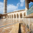The great mosque in Aleppo — Stock Photo