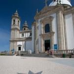 Basilic of Sameiro, Braga, Portugal — Stock Photo