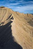 Desert of Bardenas reales, Navarra, Spain — Stock Photo