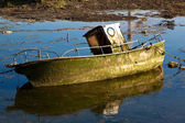Boat in Colindres, Cantabria, Spain — Stock Photo