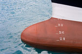 Boat in Getaria, Gipuzkoa, Spain — Stock Photo