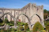 Gardens of the castle of Braga, Portugal — Stock Photo