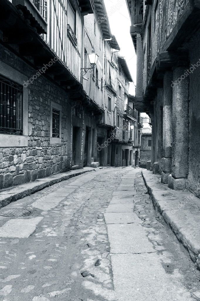 Street of La Alberca, Salamanca (Spain)  Stock Photo #7948718