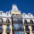 Building in the plaza de oriente, Madrid, Spain — Zdjęcie stockowe