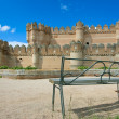 Castle in Coca, Segovia, Castilla y Leon, Spain — Stock Photo