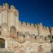 Castle of Coca, Segovia (Spain) — Stock Photo #7957272
