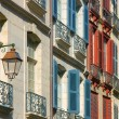 Shutters in Street Bayonne — Stock Photo