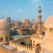 Mosque Ibn Tulun in Cairo city, Egypt - Stock Photo