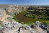Canyon in the Hoces del Duraton, Segovia (Spain) — Stock Photo