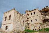 Verlaten dorp van capadocia, turkije — Stockfoto