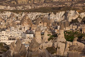 Get dark in Capadocia, Turkey — Foto Stock