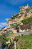 Beynacs castle, Dordogna, France — Stock Photo