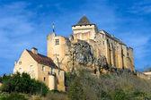 Castelnaud La Chapelle castle in Dordogna, France — Stock Photo