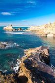 Costa de biarritz, francia — Foto de Stock
