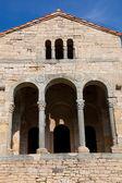 Facade of Santa Maria del Naranco, Oviedo, Asturias, Spain — Stock Photo