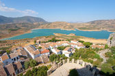 Reservoir of Zahara, Cadiz (Spain) — Stock Photo