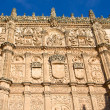 Facade of the university of Salamanca — Stock Photo