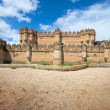 Castle of Coca, Segovia, Spain — Stock Photo