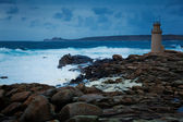 Lighthouse of Muxia,La Coruña, Galicia, Spain — Stock Photo