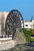 Waterwheel in the city of Hama — Stock Photo