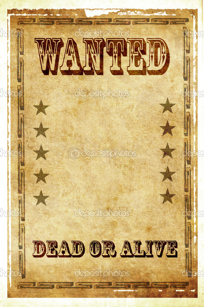 This is a replica wild west style wanted poster featuring one sexy cowgirl