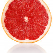 Slit juicy grapefruit — Stock Photo