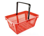 Empty shopping basket — Stock Photo