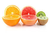 Cuted fruit — Stock Photo