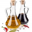 Royalty-Free Stock Photo: Olive oil and vinegar