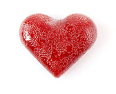 Caramel heart — Stock Photo