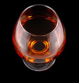 Goblet with cognac — Stock Photo
