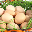 Stock Photo: Fresh chicken egg