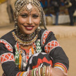 Indian Kalbelia Dancer — Stock Photo #7947356