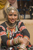 Indian Kalbelia Dancer — Stock Photo