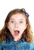 Surprised Girl — Stock Photo