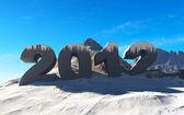 Feliz ano novo 2012 — Fotografia Stock