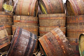 Half Barrels — Stock Photo