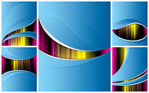 Abstract backgrounds set 5 pieces