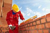 Výstavba mason pracovník zedník