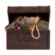 thumbnail of Treasure chest with  jewellery