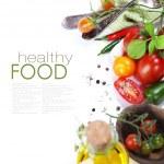 Постер, плакат: Fresh organic tomatoes