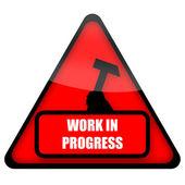 Folyamatban lévő munka jele