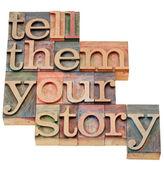 Řekněte jim svůj příběh