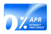 Credit free abstract card for shopping