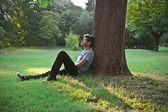 Entspannen im park
