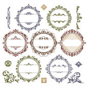 Set of royal vintage frames