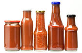 Kečup láhve