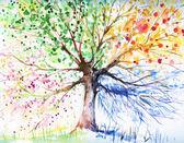 čtyři seasonstree
