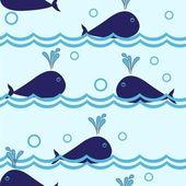 Bezešvé delfína vzor
